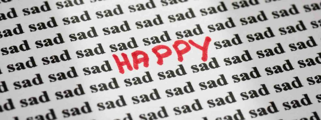 It is your choice to be happy or sad - don't let pain make you suffer